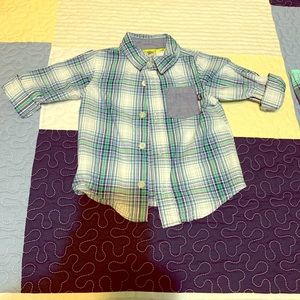 Boys button down shirt size 18 months